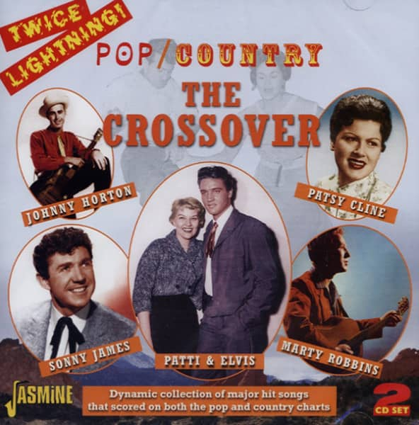 Twice Lightning! Pop - Country Crossover (2-CD)