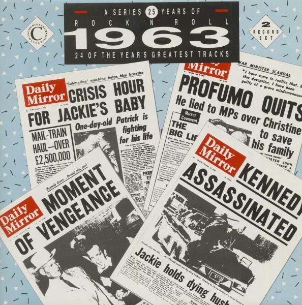 25 Years Of Rock 'N' Roll - 1963 (2-LP)