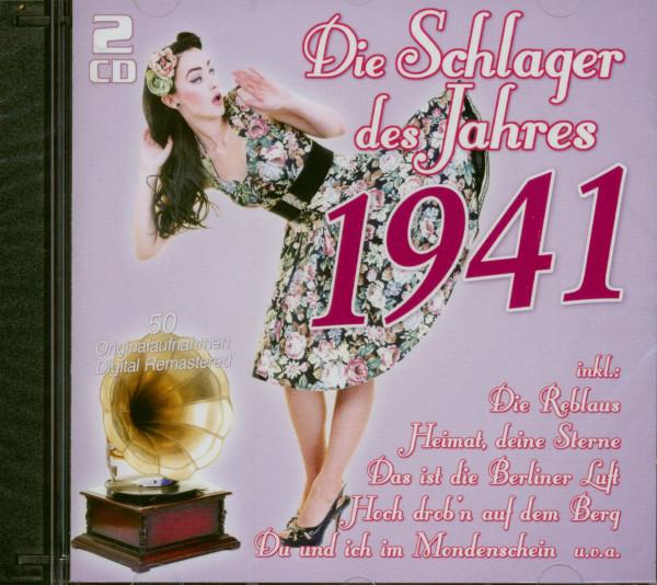 Die Schlager des Jahres 1941 (2-CD)