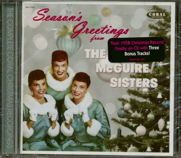 Season's Greetings From The McGuire Sisters (CD, Expended Edition)