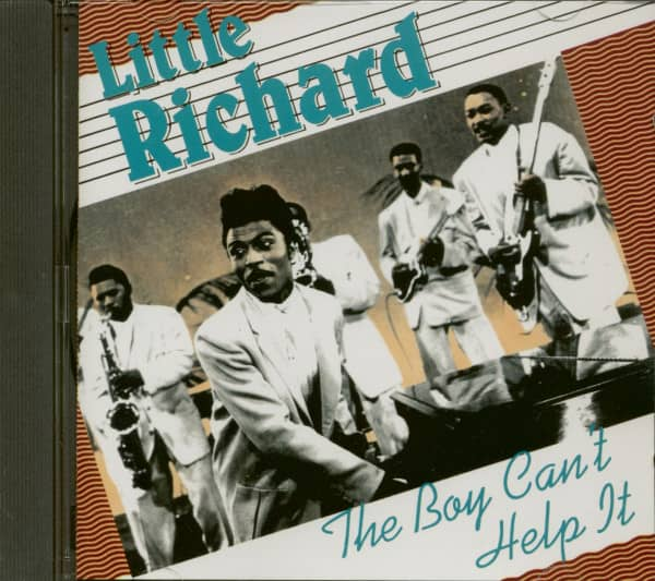 The Boy Can't Help It (CD)