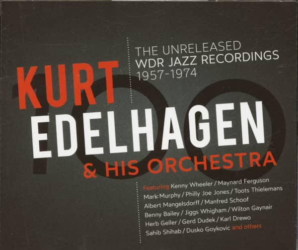 The Unreleased WDR Jazz Recordings 1957 - 1974 (3-CD)