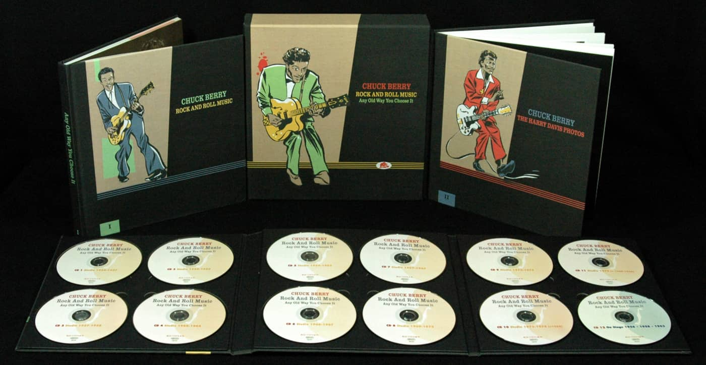 Chuck Berry Box Set Rock And Roll Music Any Old Way You