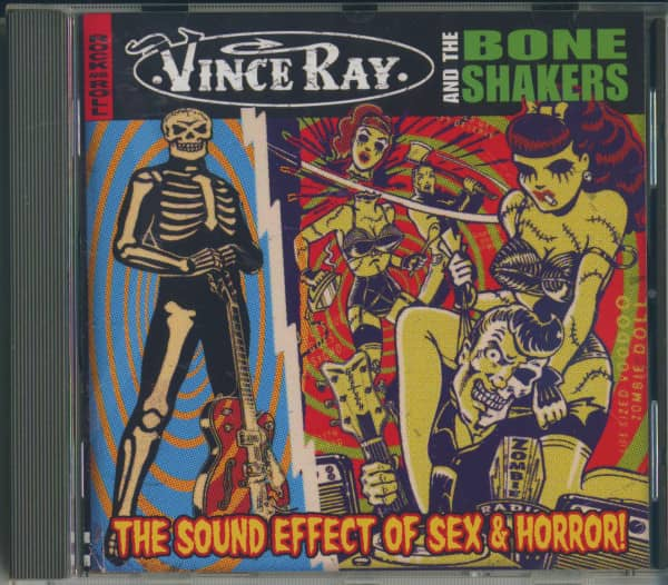 The Sound Effect Of Sex & Horror (CD Album)