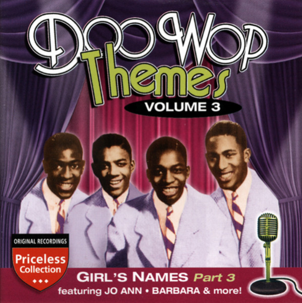 Vol.3, Girl's Names - Doo Wop Themes Vol.3