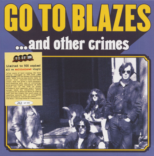And Other Crimes (LP, Colored Vinyl, Ltd.)