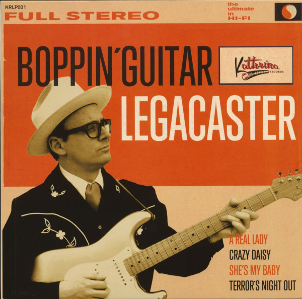 Boppin' Guitar (LP, 10inch)