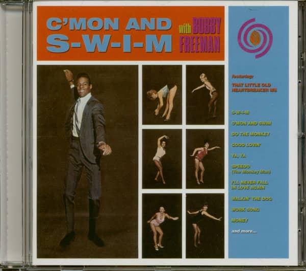 C'mon And S-W-I-M With Bobby Freeman (CD)