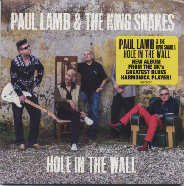 Paul Lamb Amp The Kingsnakes Cd Hole In The Wall Bear
