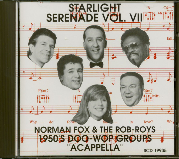 Starlight Serenade Vol.7 - 1950s Doo-Wop Groups Acapella (CD)