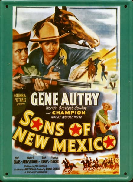 Collector Card #202 - Gene Autry