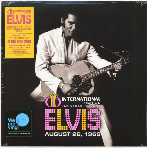 The International Hotel, Las Vegas, Nevada, August 26,1969 (2-LP)