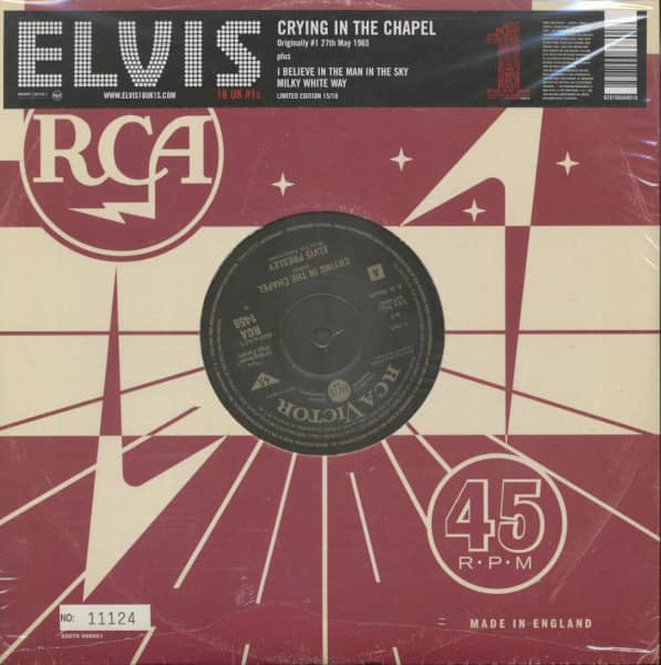 18 UK #1s Vol.15 - Crying In The Chapel (10inch, 45rpm, Ltd., Numbered)