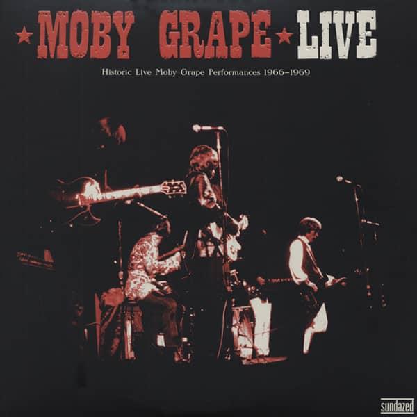 Moby Grape Live (2x180g Vinyl) Gatefold - Klapp