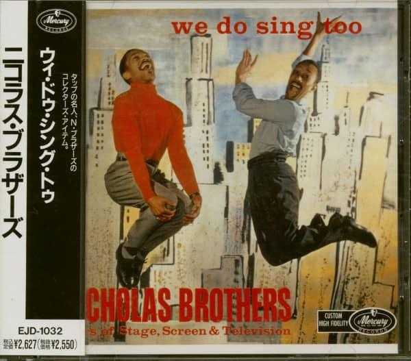 We Do Sing Too (CD, Japan)