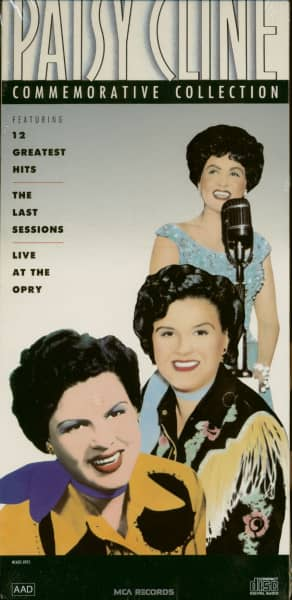 The Patsy Cline Commemorative Collection (2-CD)