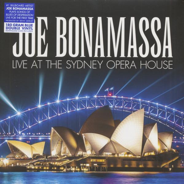 Live At The Sydney Opera House (2-LP, 180g Blue Vinyl & Download)
