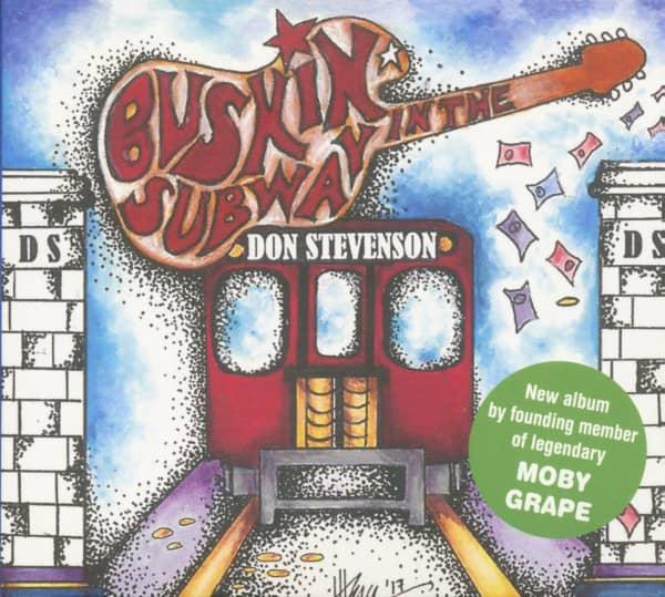 Buskin' The Subway (CD)