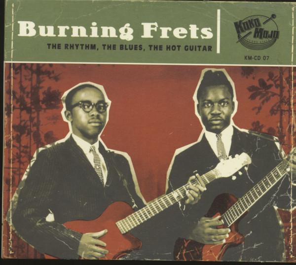 Burning Frets (CD)