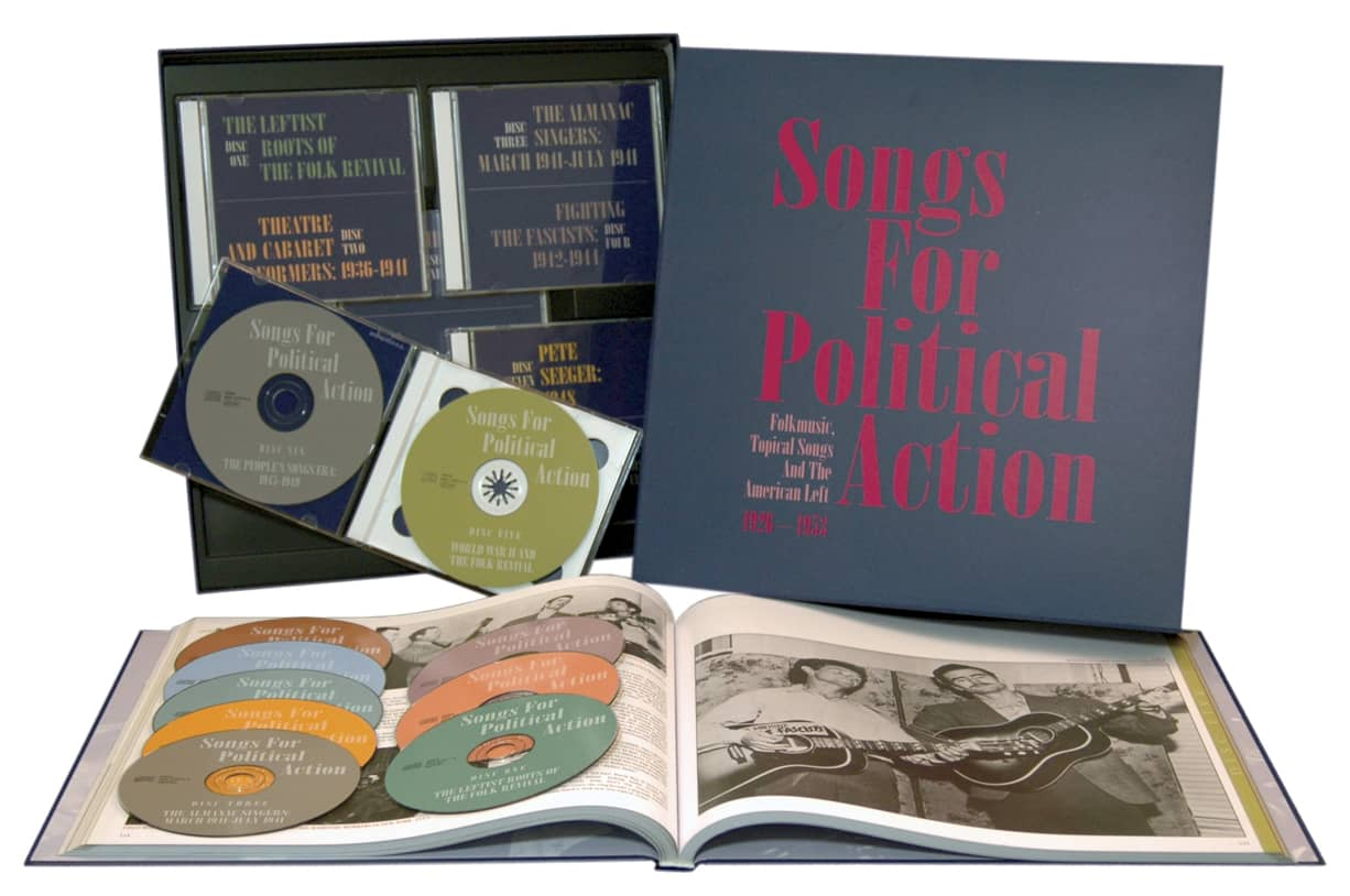 Preview: Songs For Political Action (10-CD) ...