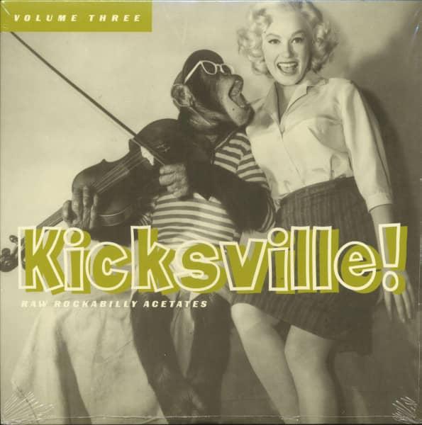 Kicksville! Vol.3 - Raw Rockabilly Acetates (LP)