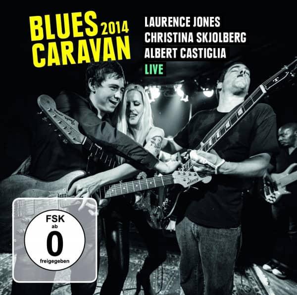 Blues Caravan 2014(2-CD - 1-DVD)