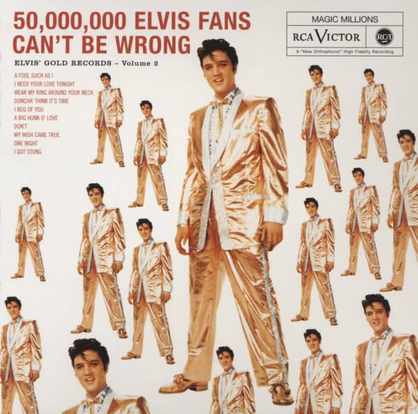 Vol.2, Elvis' Gold Records...plus - Digipack