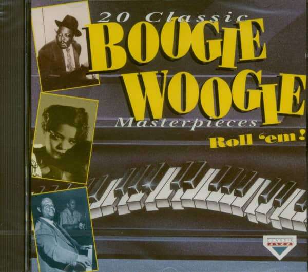20 Classic Boogie Woogie Masterpieces (CD)
