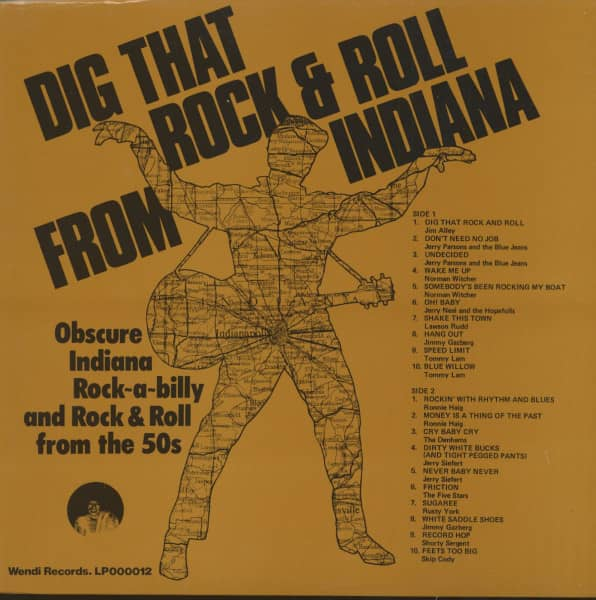 Dig That Rock & Roll From Indiana (LP)