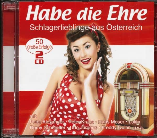 Habe die Ehre - Schlagerlieblinge aus Österreich (2-CD)