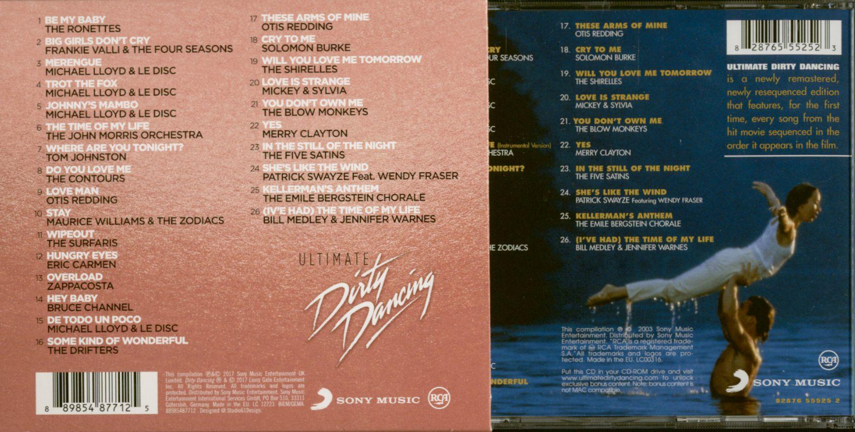 Various Cd Ultimate Dirty Dancing Cd Bear Family Records