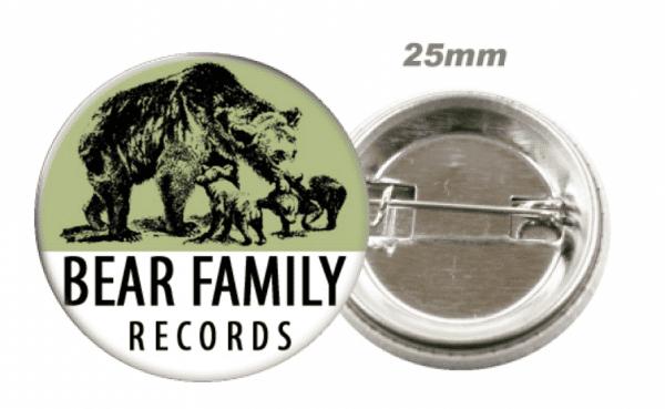 Bear Family Records - Button, Badge, Pin