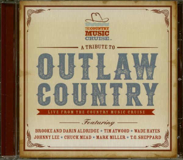 A Tribute To Outlaw Country (CD)
