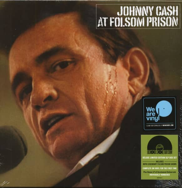 Johnny Cash At Folsom Prison - Legacy Edition (5-LP Box, Ltd., RSD)