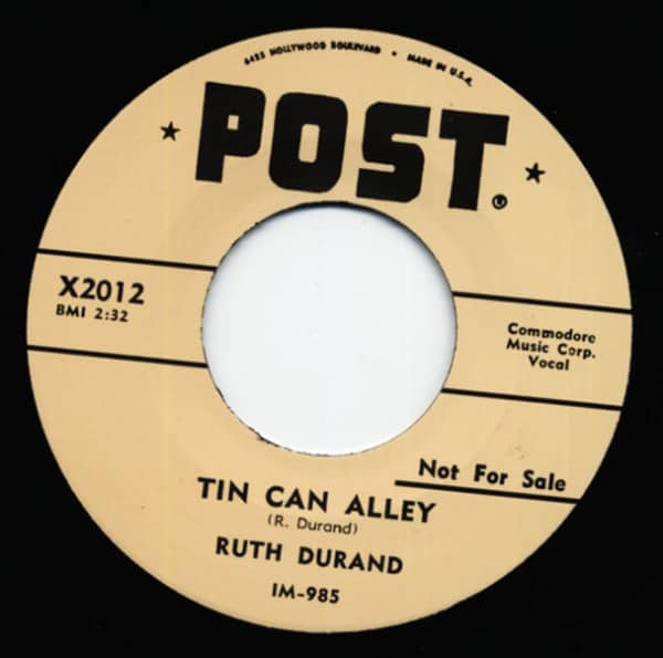 Tin Can Alley - I'm Wise 7inch, 45rpm