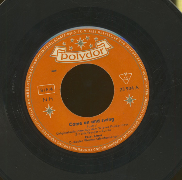 Come On And Swing - Du passt so gut zu mir (7inch, 45rpm)