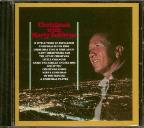 Christmas With Marty Robbins (CD)