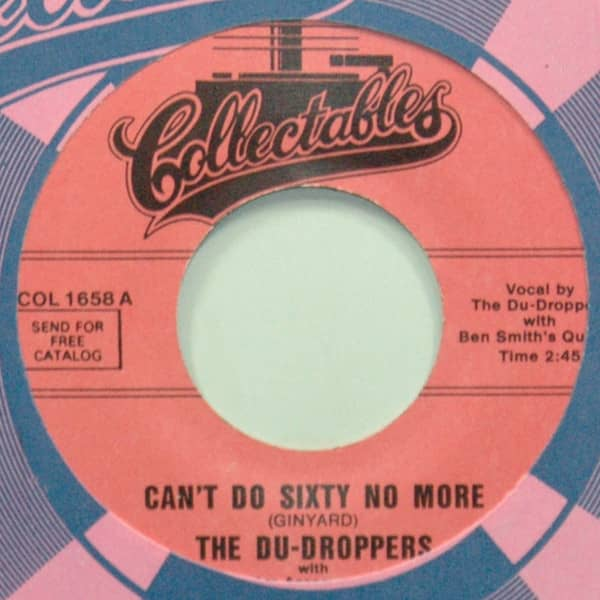 Can't Do Sixty No More b-w Chain Me Baby 7inch, 45rpm