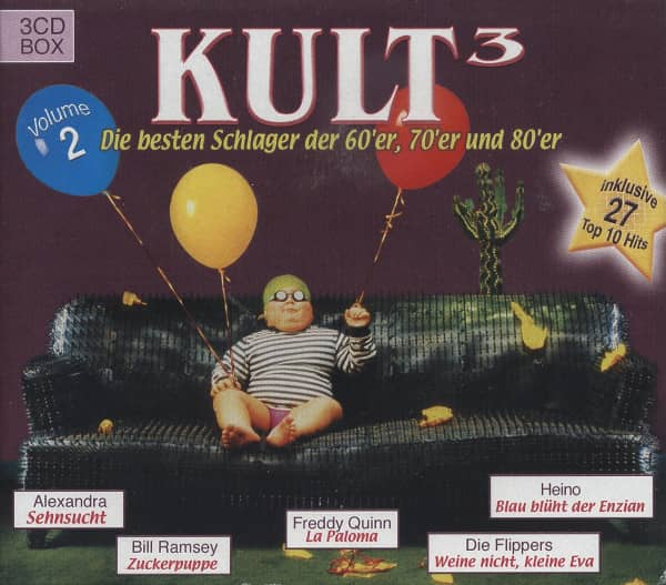 Vol.2, Kult - Schlager der 60er, 70er u. 80er (3-CD)