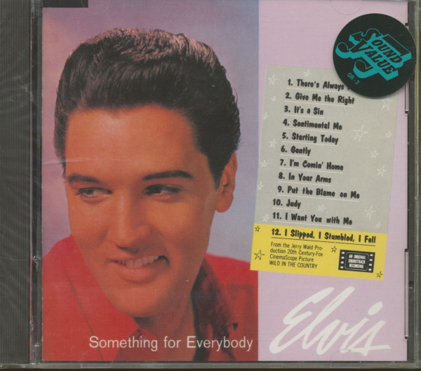Something For Everybody - 1989 USA (CD)