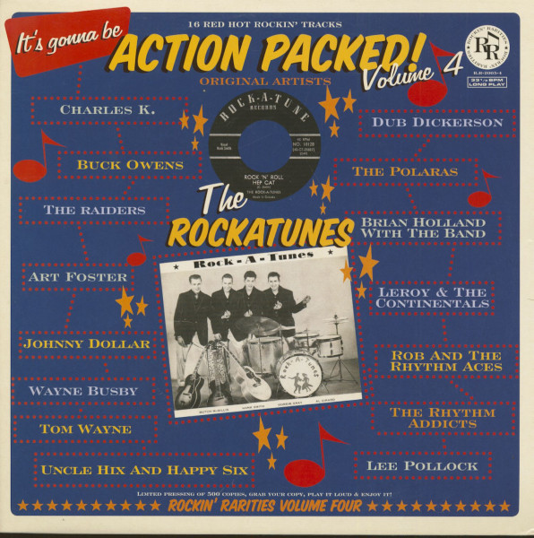 Action Packed! Vol.4 (LP)