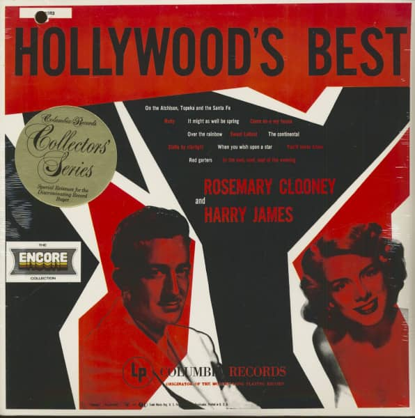 Hollywood's Best - Rosemary Clooney And Harry James (LP)
