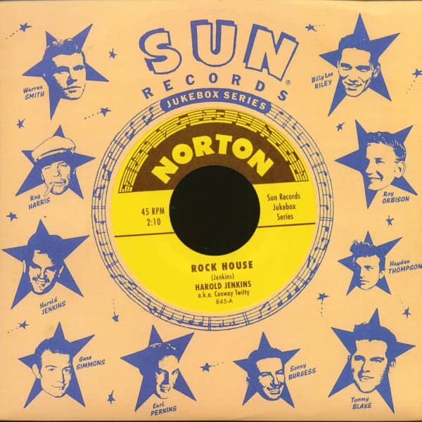 Sun Records Jukebox Series - Harold Jenkins (7inch, 45rpm)