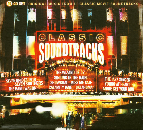 Classic Soundtracks (10-CD)
