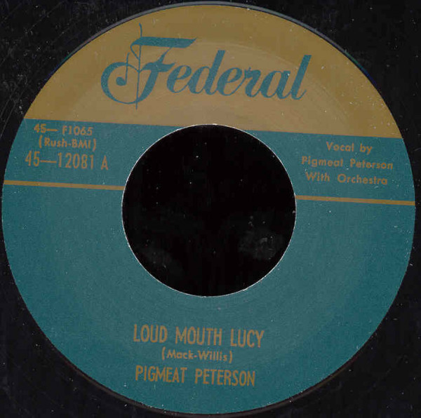 Loud Mouth Lucy - Everybody Loves A Fat.. 7inch, 45rpm