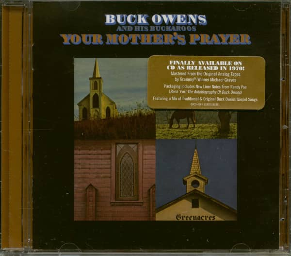 Your Mother's Prayer (CD)