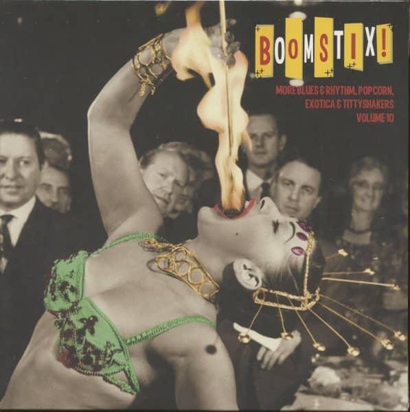 Exotic Blues & Rhythm Vol.10 - Boom Stix (LP, 10inch, Ltd.)