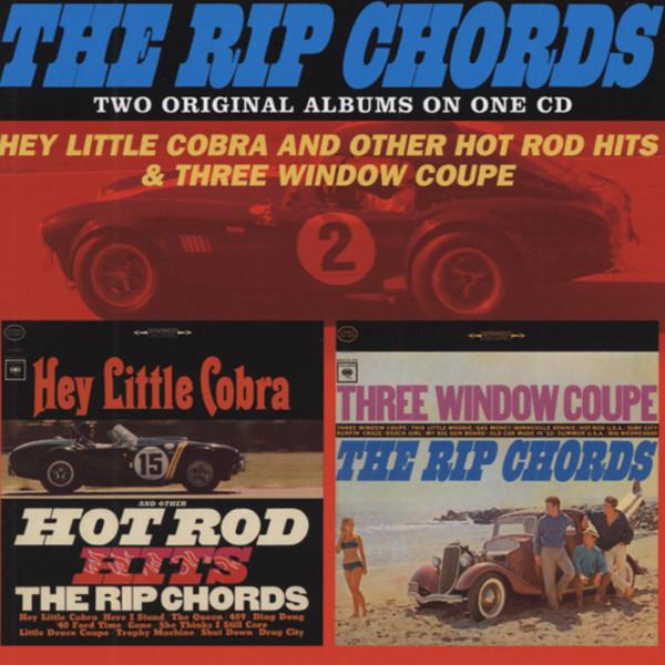 Hey Little Cobra & Three Window Coupe
