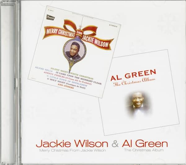 Merry Christmas From Jackie Wilson - Al Green's Christmas Album (CD)