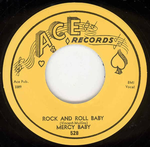 Rock And Roll Baby b-w Marked Deck 7inch, 45rpm